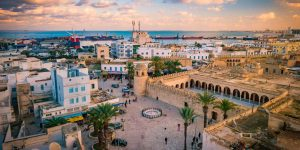 Centre ville de de Sousse en voiture de location