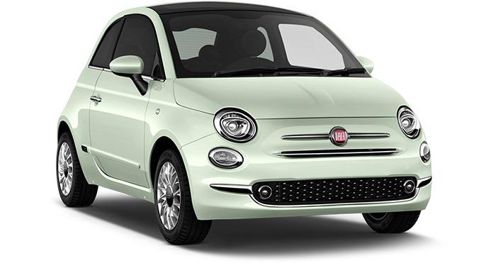 Location voiture automatique Fiat 500